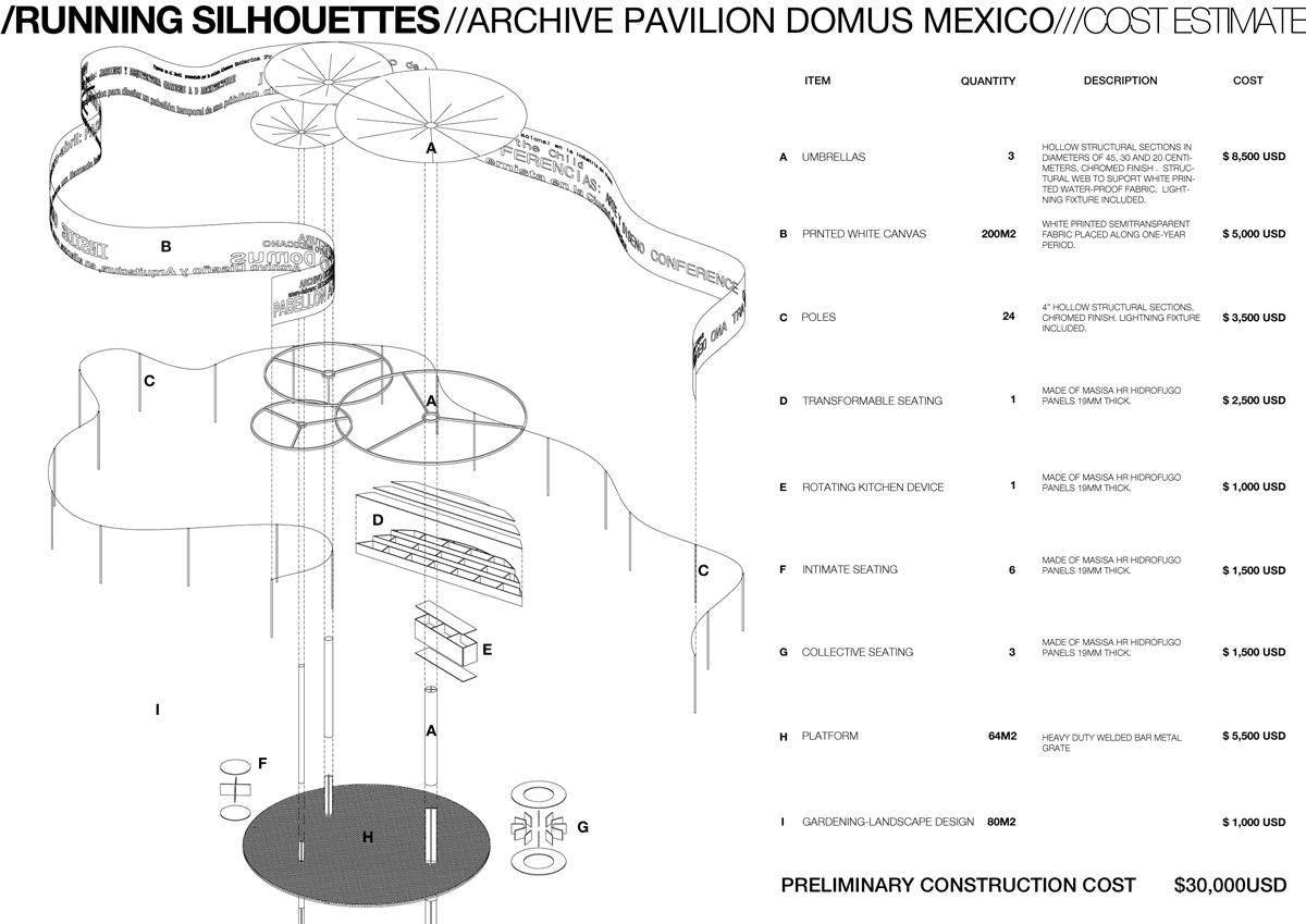 ARCHIVO DOMUS – RUNNING SILHOUETTES, CIUDAD DE MÉXICO, MÉXICO